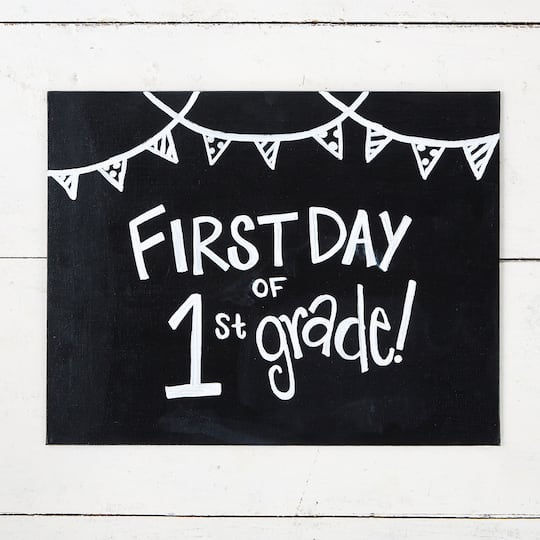 ... Chalk First Day of School Sign. Previous