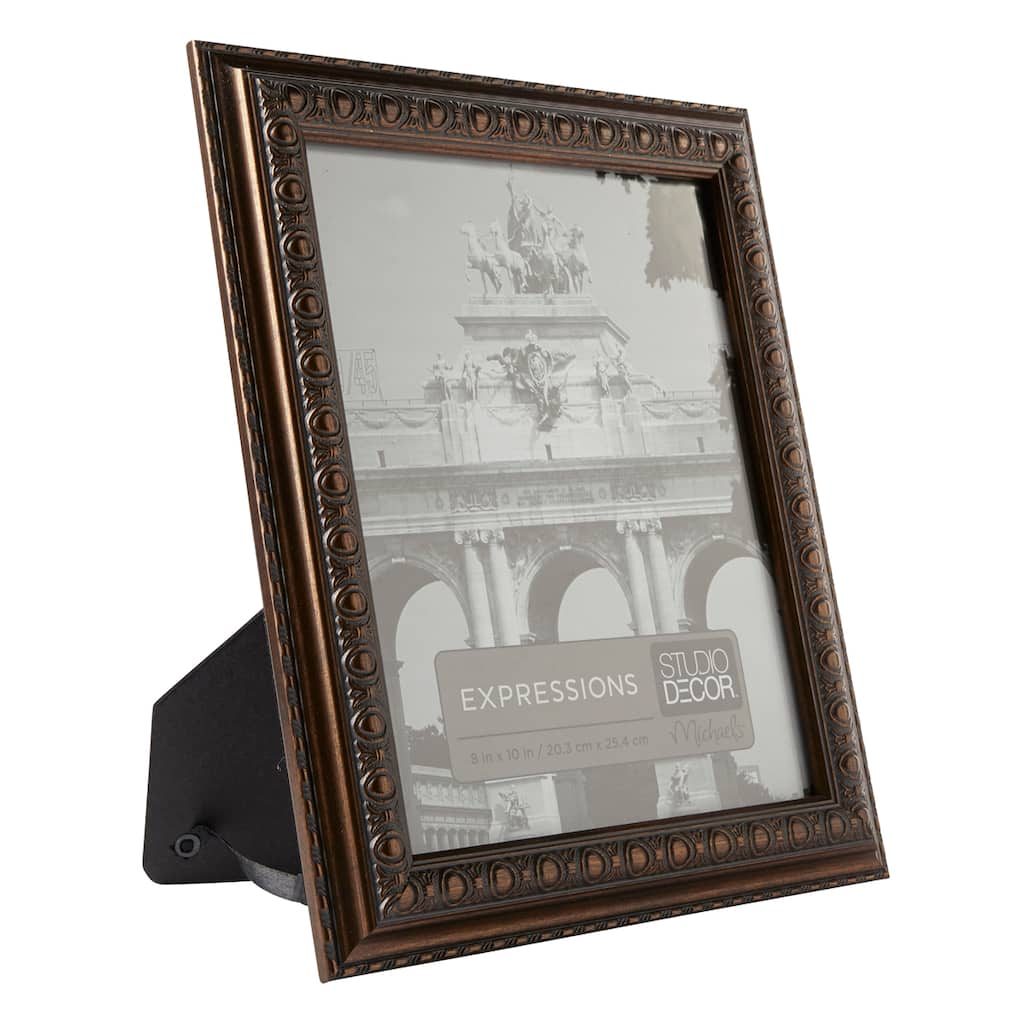 "Shop For The Bronze Button Frame, 8"" X 10"", Expressions"