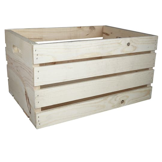 Wood Crate Carry All By Artminds