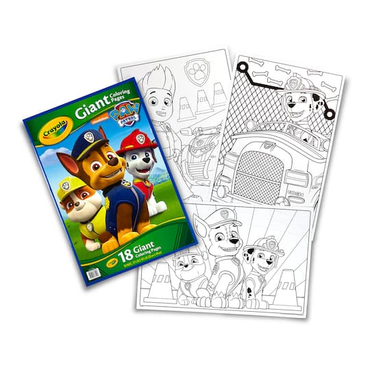 Shop for the Crayola® Paw Patrol® Giant Coloring Pages at ...