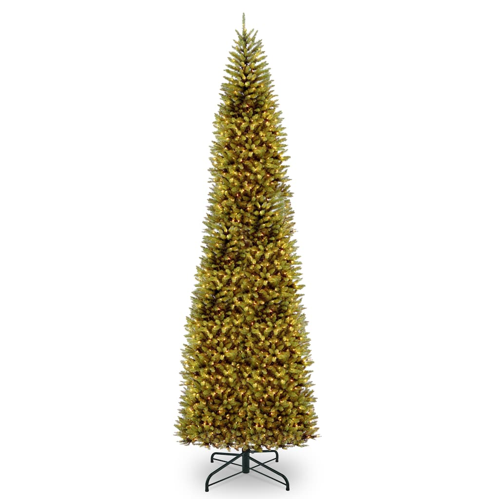 16 Foot Christmas Tree: 16 Ft. Pre-Lit Kingswood™ Fir Pencil Artificial Christmas