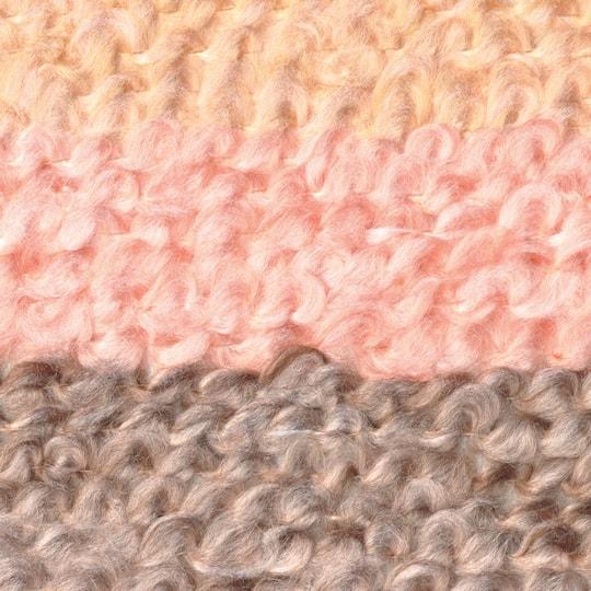 Lion Brand Quick Yarn Coral Stripe