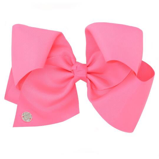 jojo siwa neon pink hair bow