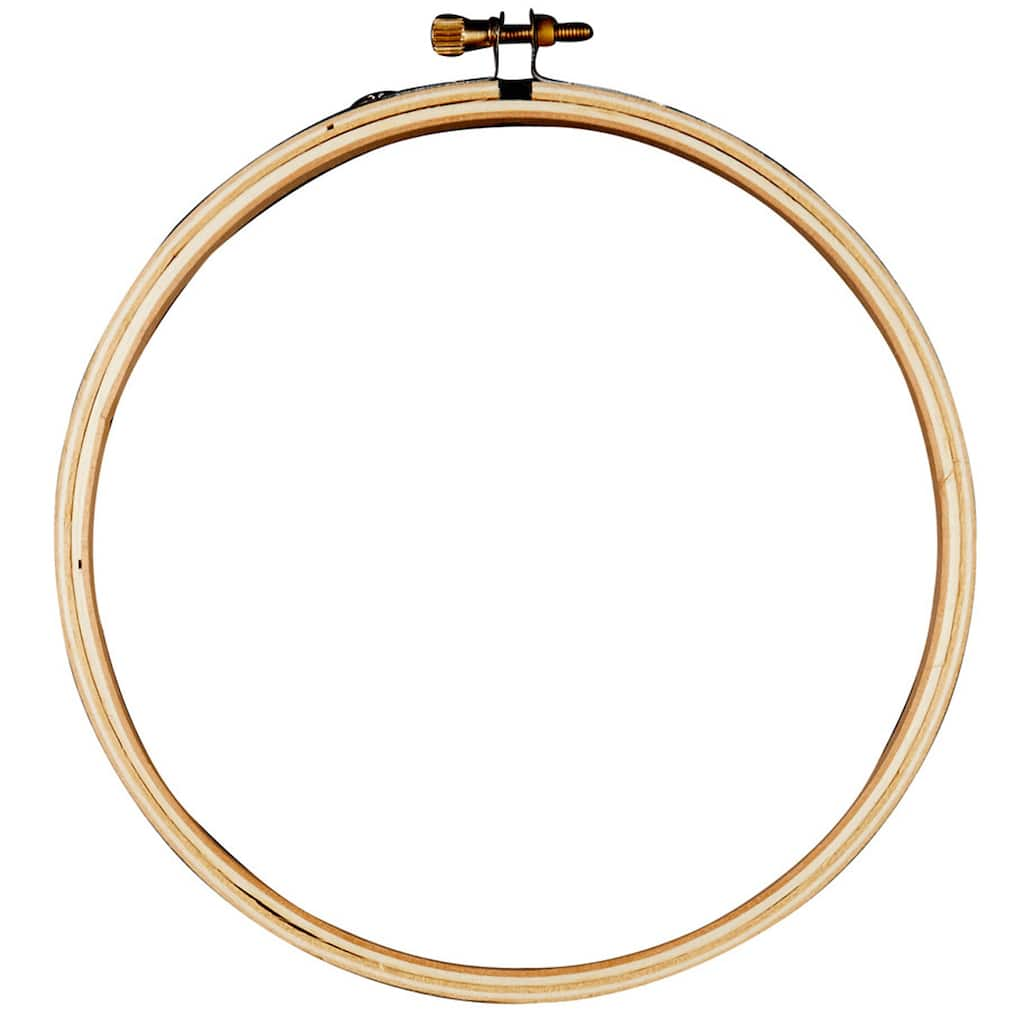Loops Amp Threads Wooden Embroidery Hoop