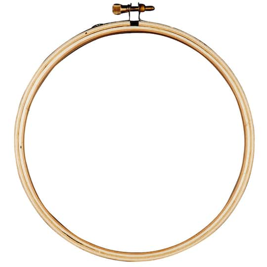 Bamboo Embroidery Hoop By Loops Threads