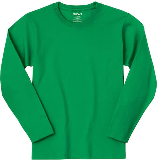 19205e8919d Shop for the Gildan® Long Sleeve Crew Neck Adult T-Shirt at Michaels