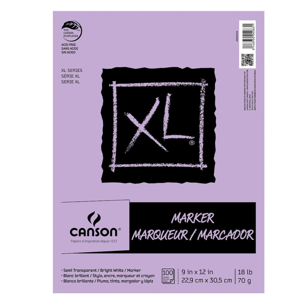 Buy the Canson® XL® Marker Pad, Bright White at Michaels