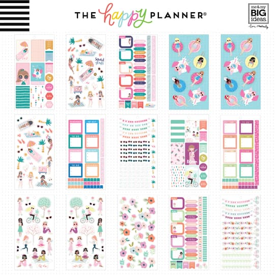 find the create 365 the happy planner squad goals sticker sheets