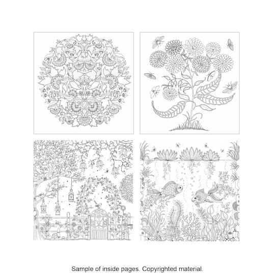 secret garden coloring pages completed operations   Secret Garden