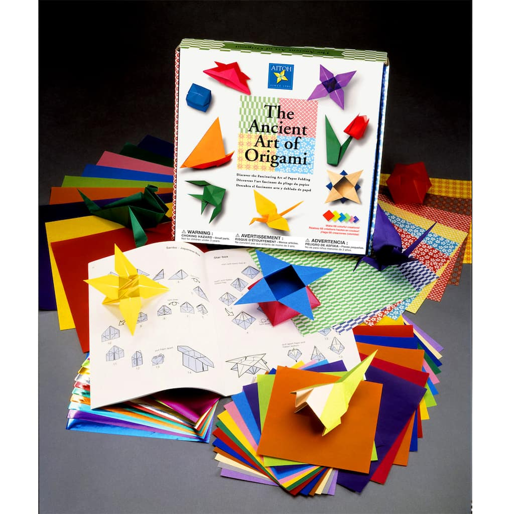 The Ancient Art Of Origami Kit Instructions For Difficult To Items Img