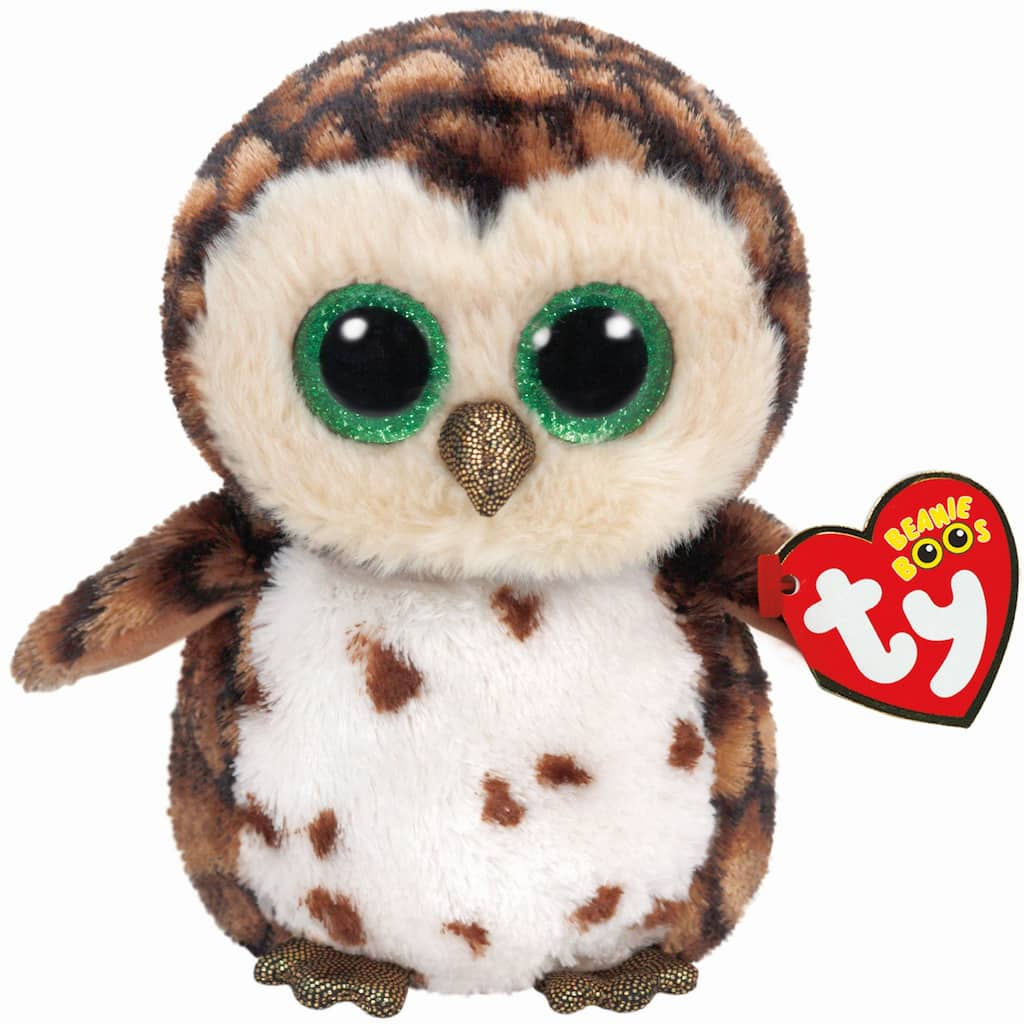 Buy The Ty Beanie Boos Brown Sammy Owl Small At Michaels
