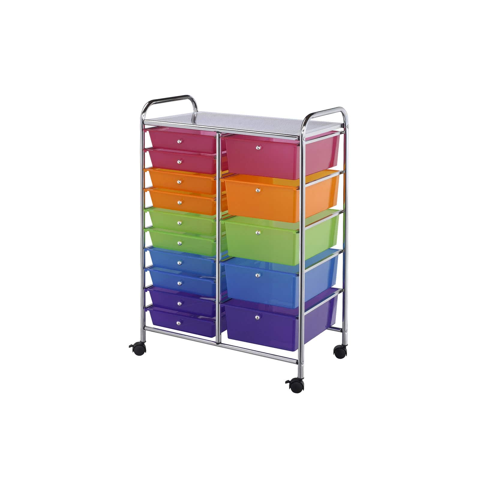 Attirant Darice® Rolling Craft Storage Cart, 15 Drawers. Img