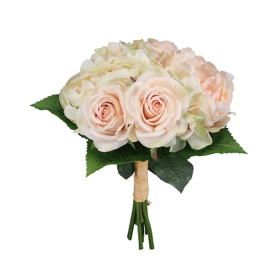 Ashland Classic Traditions Deluxe Mixed Stem Bundle Blush Green