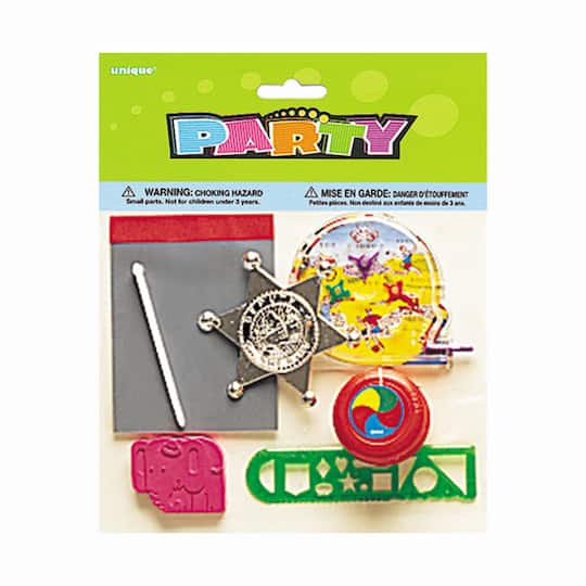 Assorted Boys Party Favors