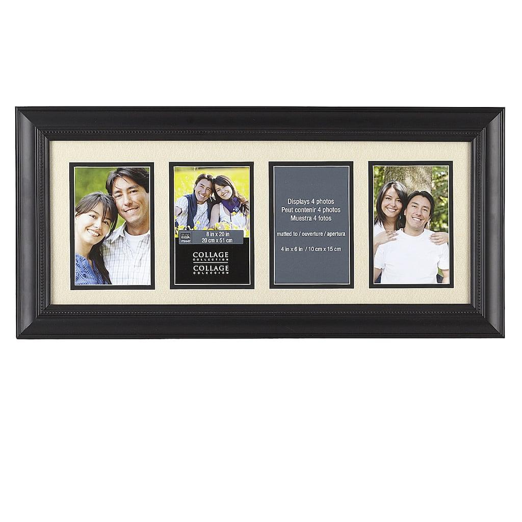 4 opening collage frame 4 x 6 by studio d cor. Black Bedroom Furniture Sets. Home Design Ideas