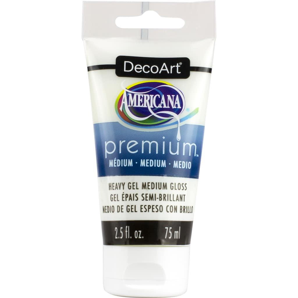 shop for the decoart americana premium heavy gel gloss medium at