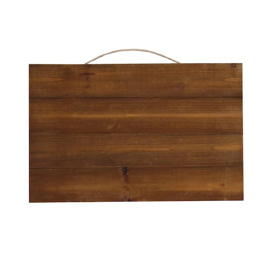 Wood Pallet Plaque by ArtMinds™, 17