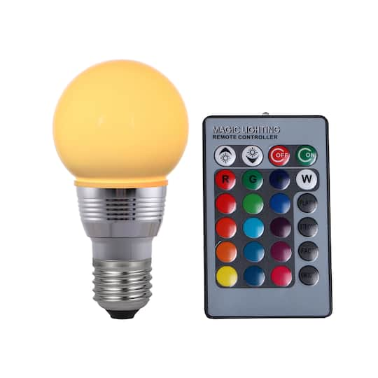 Find The Magic Lighting Color Changing Led Bulb With Remote By