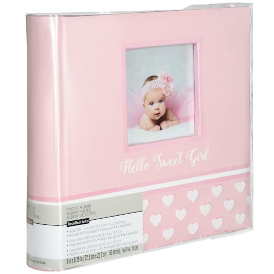 Buy The Baby Girl 2 Up Photo Album By Recollections At Michaels