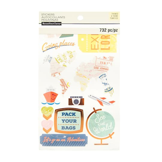 Get The Travel Sticker Book By Recollections At Michaels