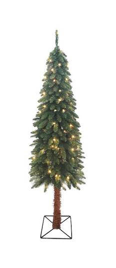 5 ft pre lit two tone alpine artificial christmas tree clear lights - Michaels Christmas Trees Pre Lit