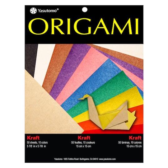 find the yasutomo® kraft origami folding paper at michaels