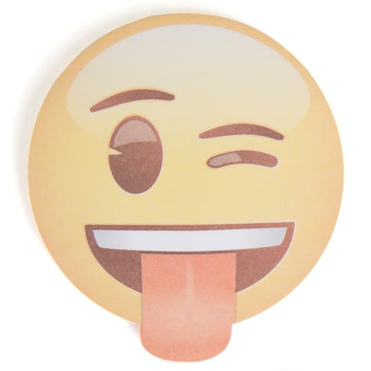 Crazy Emoji Notepad Party Favor
