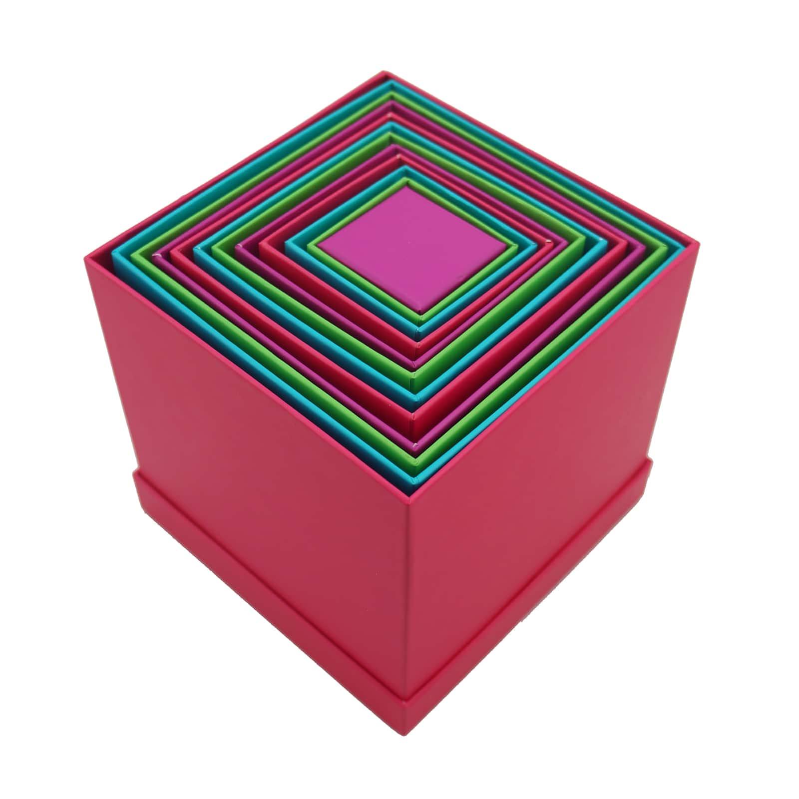 Bright Square Boxes By Celebrate It™