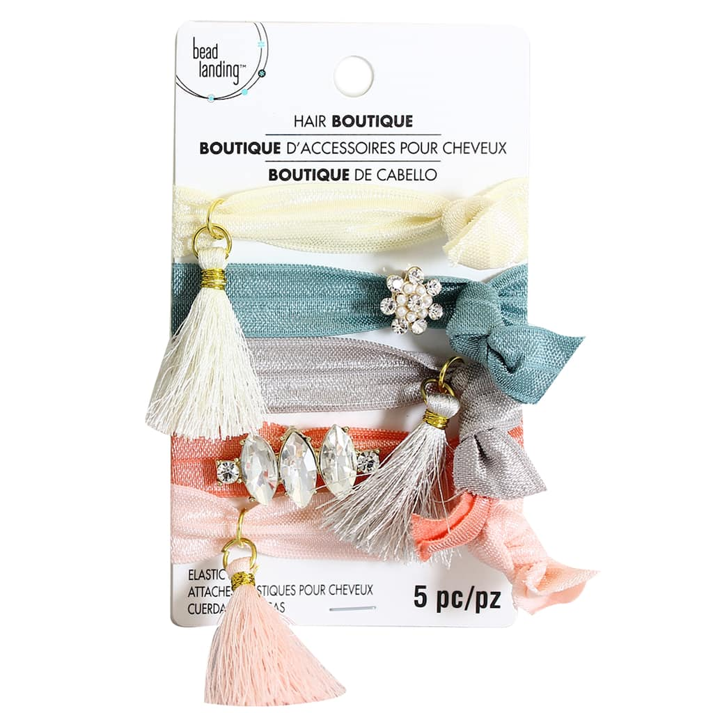 Find the Coin   Tassel Hair Ties By Bead Landing™ at Michaels bb2832c2361