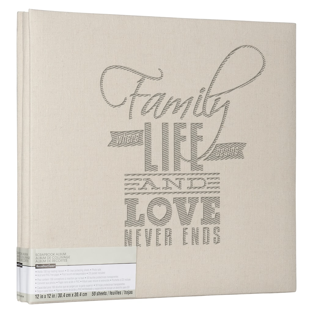 Purchase The Family Life Scrapbook By Recollections At Michaels