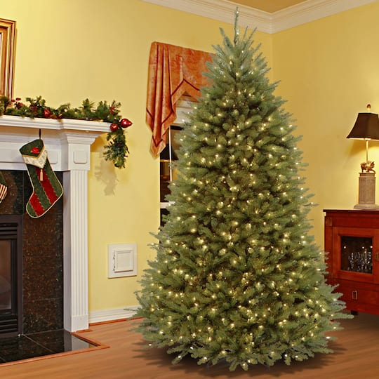 6.5 ft. Pre-lit PowerConnect™ Dunhill® Fir Full Artificial Christmas Tree,  Dual Color® LED - Buy The 6.5 Ft. Pre-lit PowerConnect™ Dunhill® Fir Full Artificial