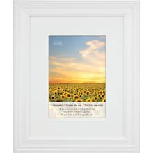 85d6a731270b 4 white frames with mat