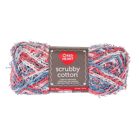 Red Heart® Scrubby Cotton Yarn, Prints