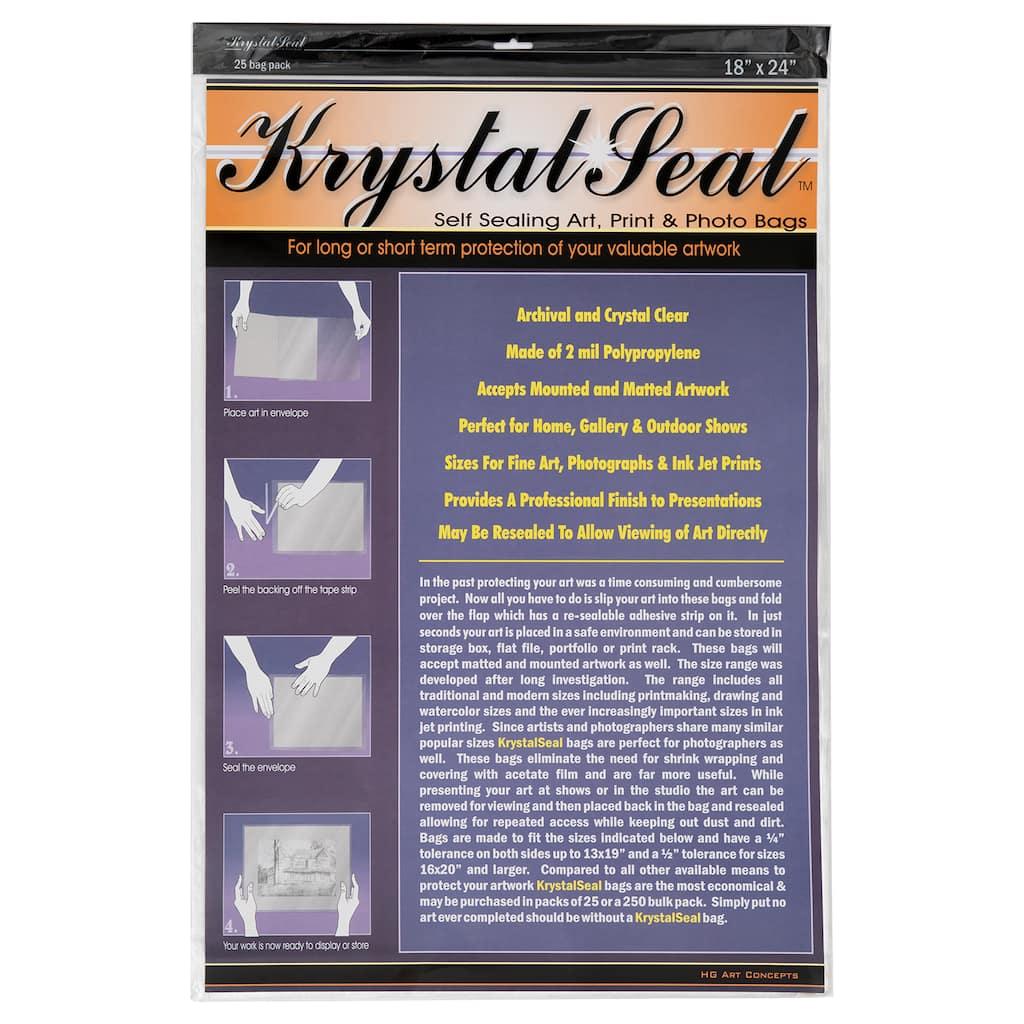 a41720b9 Krystal Seal® Self Sealing Bags