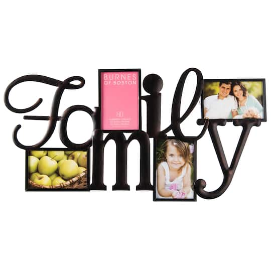 Find the Burnes Of Boston® 4-Opening Collage Wall Frame, Family at ...