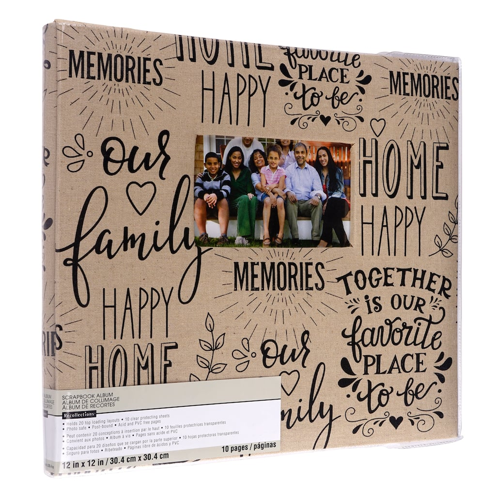 Buy The Memories Scrapbook Album By Recollections At Michaels