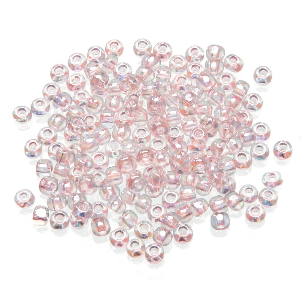 size 110 Toho Japanese Round Seed Beads 110 T265 Toho Metallic Purple Lined Crystal Rainbow Craft supplies 20 grams