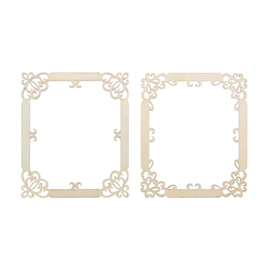 Buy The Wooden Laser Cut Frames By Artminds At Michaels