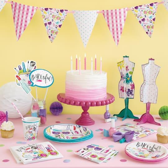 Fantastic Spa Birthday Cake Plates Spa Party Supplies Funny Birthday Cards Online Necthendildamsfinfo
