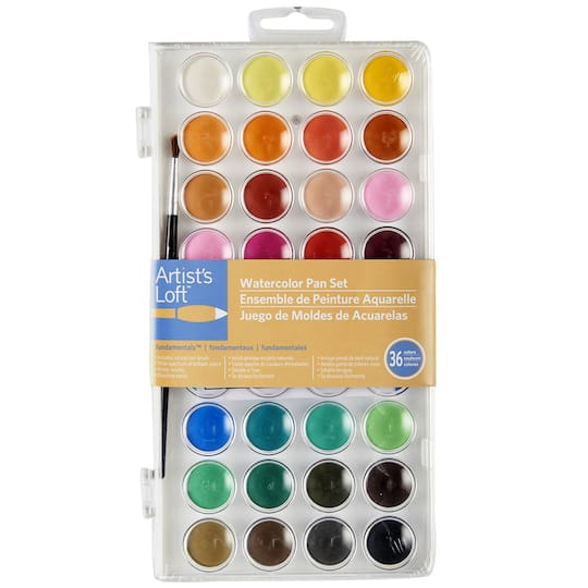 Artist s Loft™ Fundamentals™ Watercolor Pan Set 13a5239d4e1f2