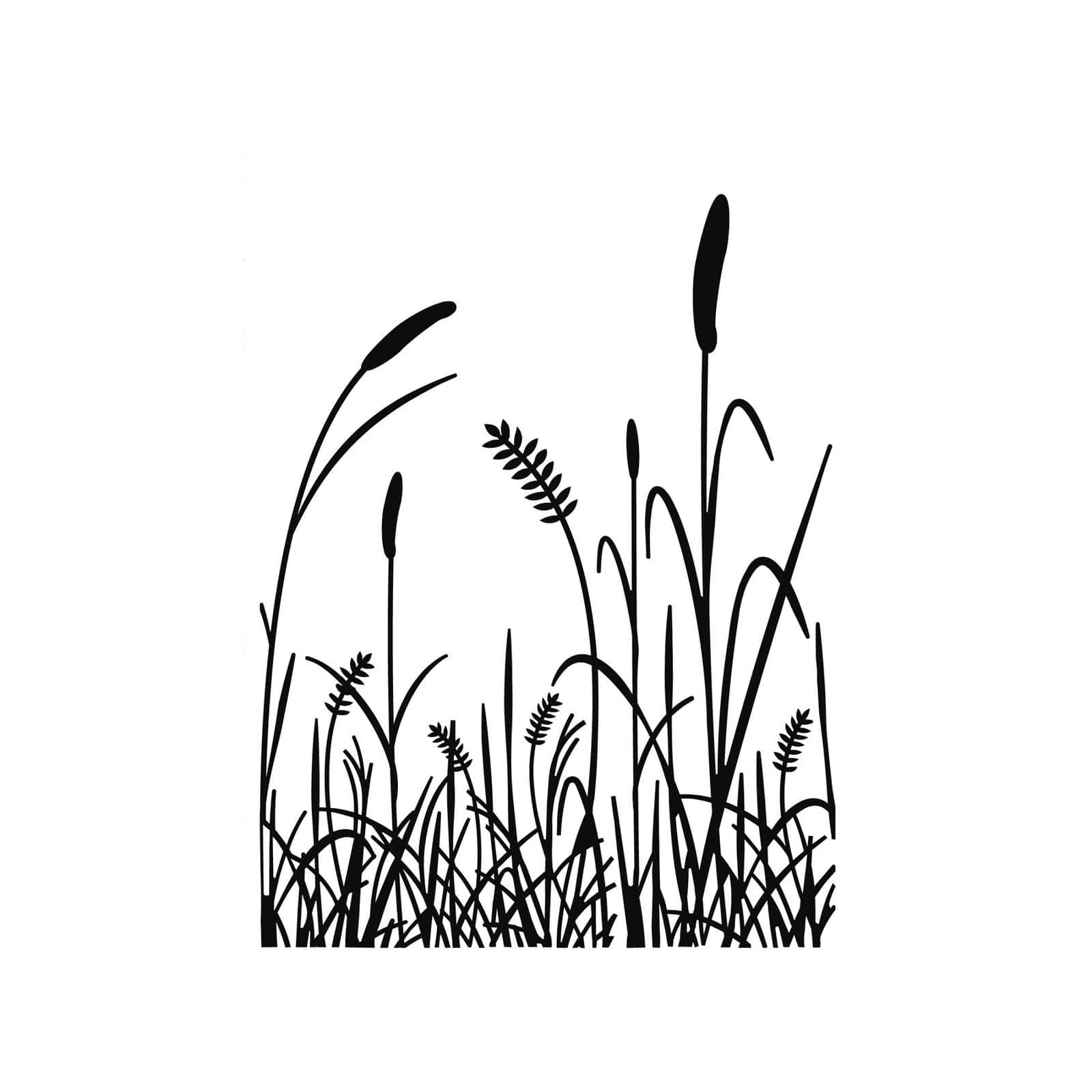 Darice® Tall Grass Embossing Folder