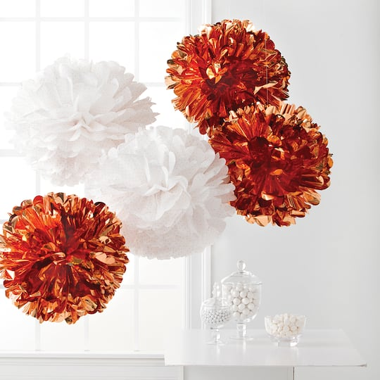 Shop for the martha stewart copper tissue pom poms at michaels martha stewart copper tissue pom poms mightylinksfo