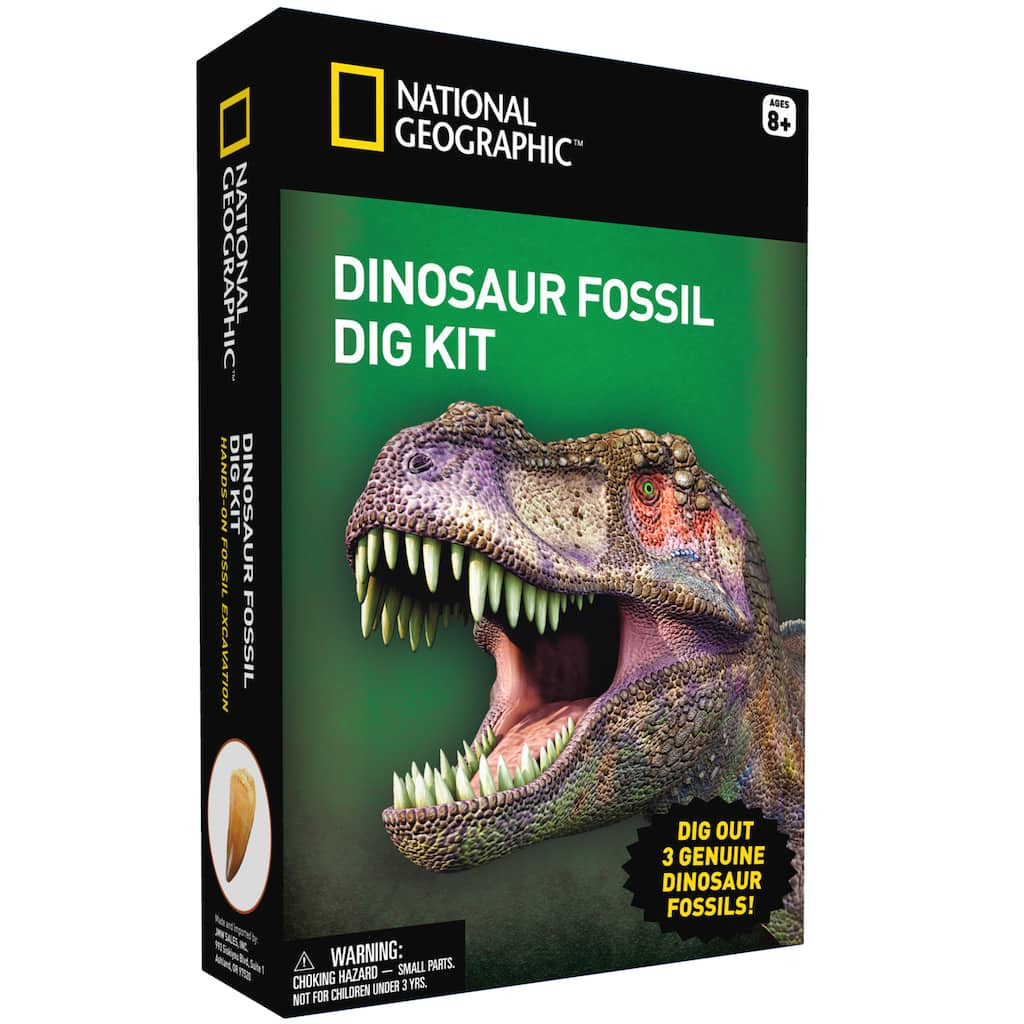 National Geographic© Dinosaur Fossil Dig Kit