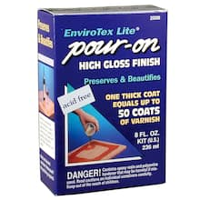 Envirotex Lite 174 Pour On High Gloss Finish