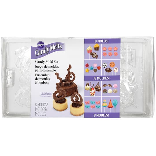 Wilton® Candy Mold Set, Party Pack