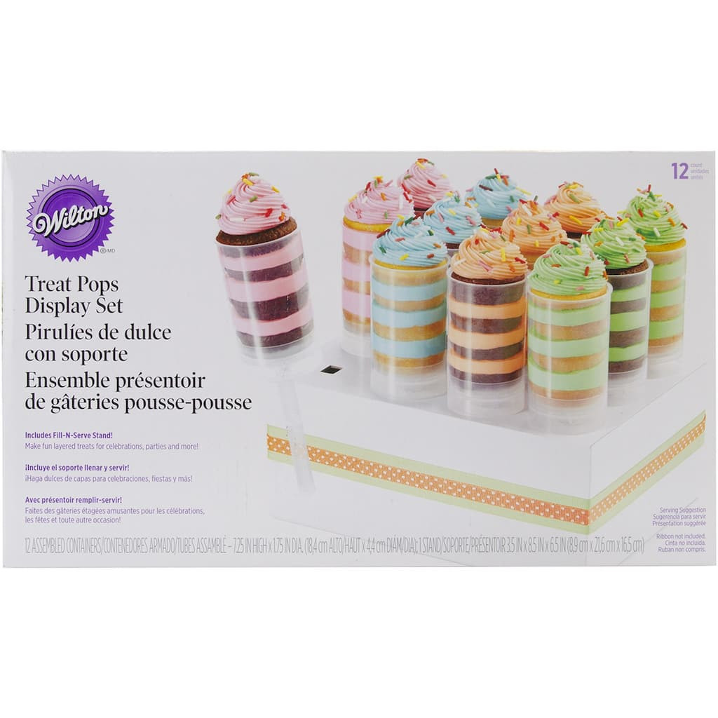 Wilton 174 Treat Pops With Stand