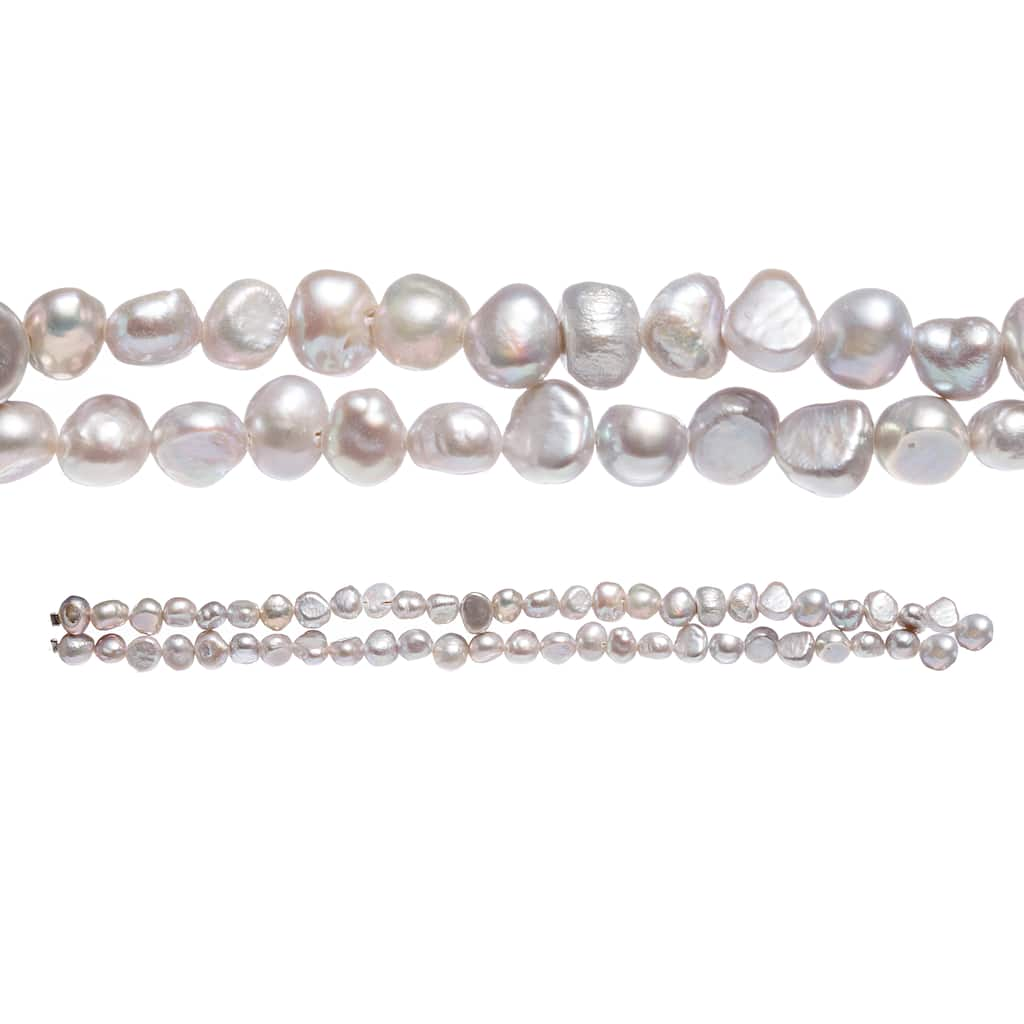Grey Pearl Beads: Shop For The Light Gray Pearl Seed Beads By Bead Landing