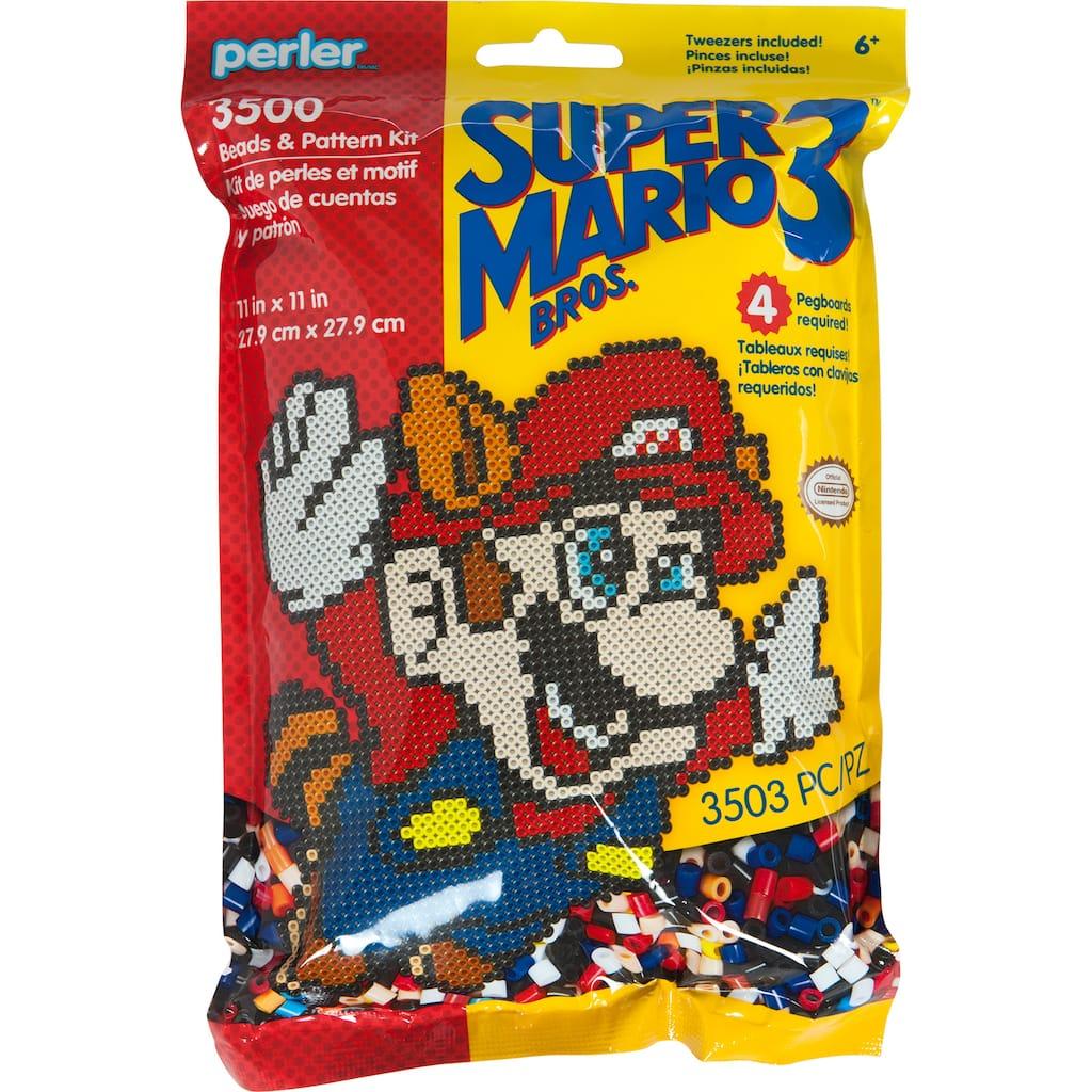 Perler Super Mario Bros 3 Beads Pattern Kit Michaels