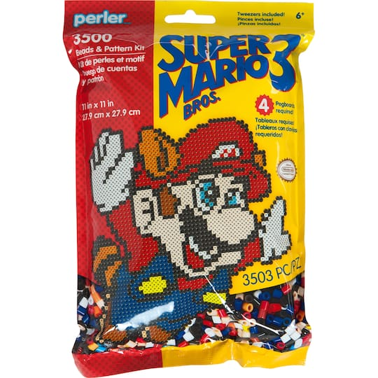 Perler Super Mario Bros 3 Beads Pattern Kit Michaels