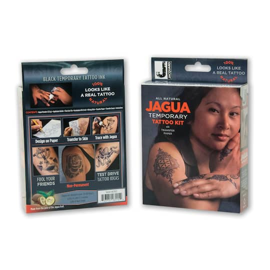Find The Jacquard Jagua Temporary Tattoo Kit At Michaels